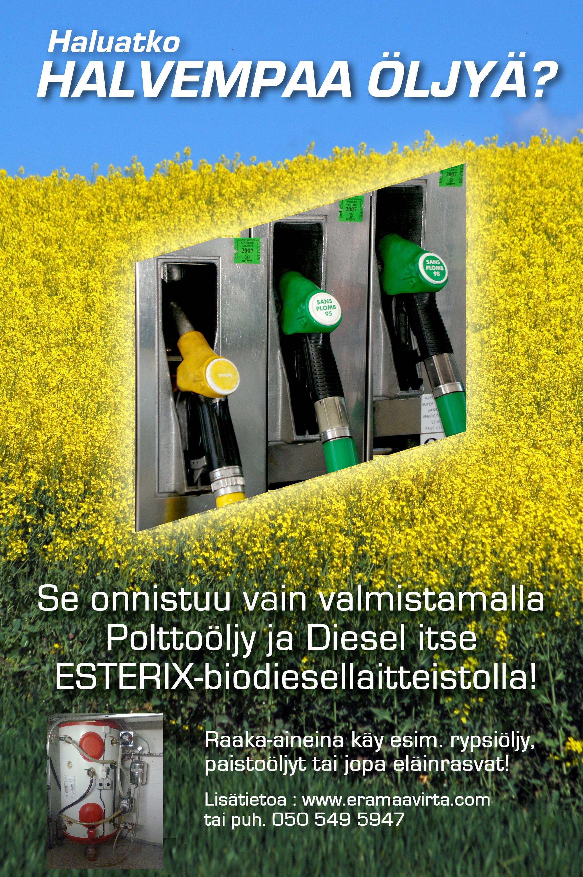Haluatko halvempaa öljyä?